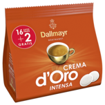 Dallmayr Crema D'oro Intensa 16+2 Pads 126g