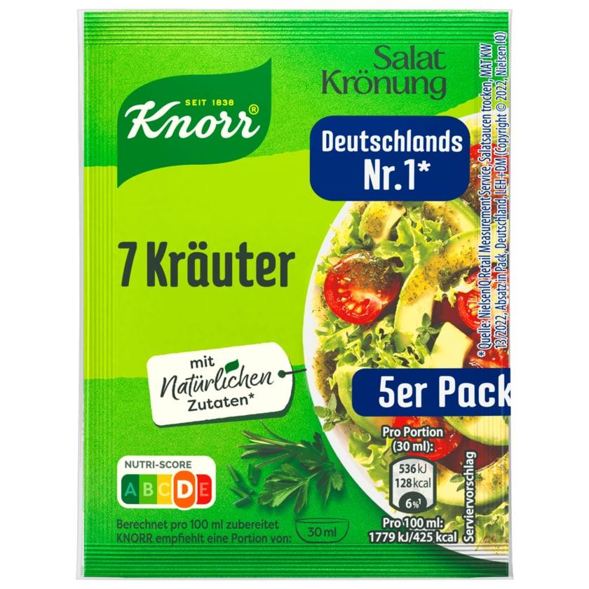 Knorr Salatkrönung 7 Kräuter Dressing 5er-Pack 40g
