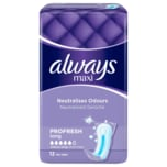 Always Damenbinden Maxi Profresh long 12 Stück