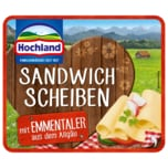 Hochland Sandwich Scheiben mit Emmentaler 150g