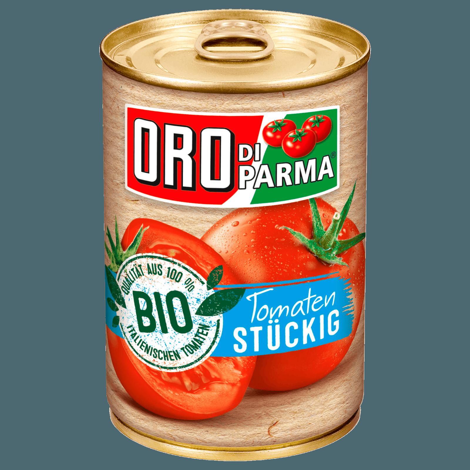 ORO di Parma BIO Stückige Tomaten, 425 ml Dose