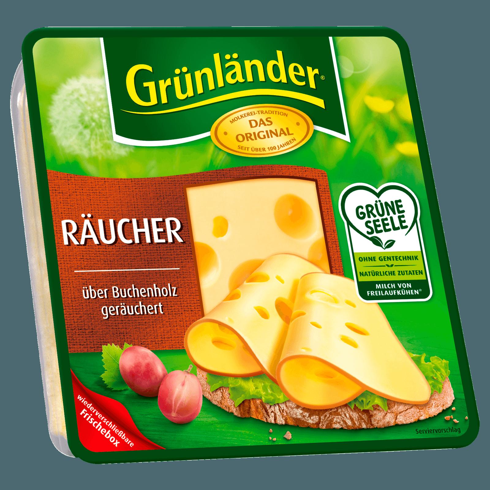 Grünländer Käse Räucher Scheiben 130g