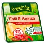 Grünländer Käse Chili-Paprika Scheiben 130g