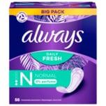 Always Slipeinlagen Fresh & Protect Normal 56 Stück