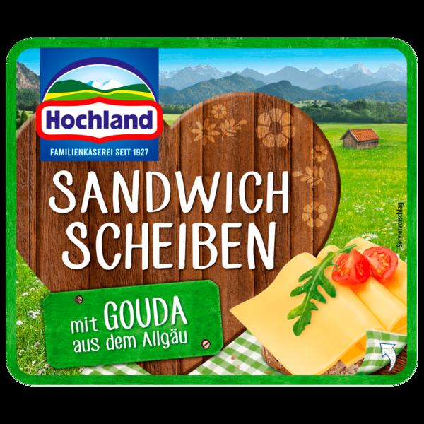 Hochland Sandwich Scheiben Gouda 150g