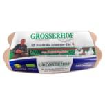 Grosserhof frische Bio Schwester-Eier 10 Stück