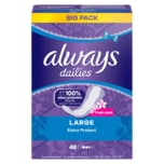 Always Slipeinlagen Extra Protect Large 48 Stück