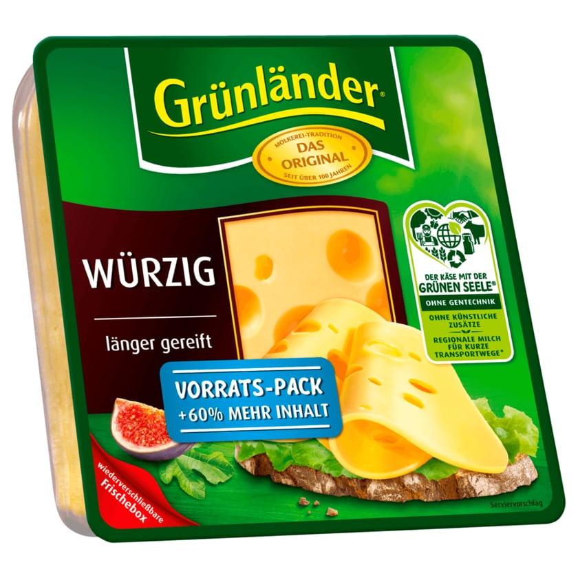 Grünländer Würzig Scheiben 210g