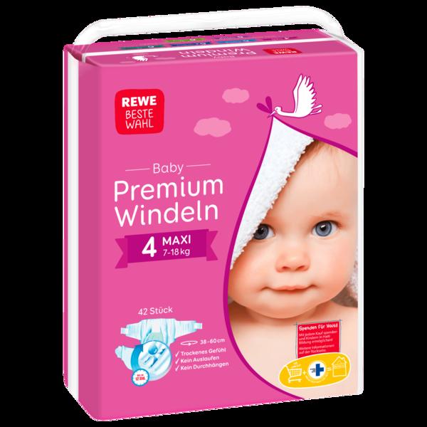 REWE Beste Wahl Windeln Maxi 42 Stück