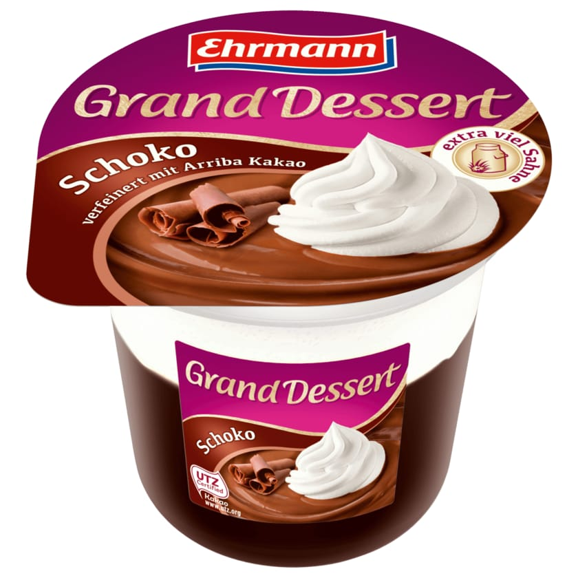 Ehrmann Grand Dessert Schoko 190g