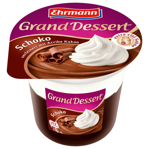 Ehrmann Grand Dessert Schoko 190g