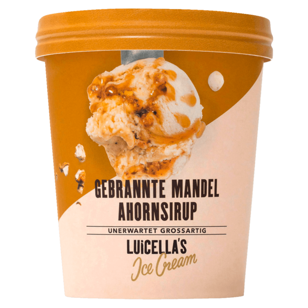 Luicella\'s Gebrannte Mandel Ahornsirup Speiseeis 500ml bei REWE ...