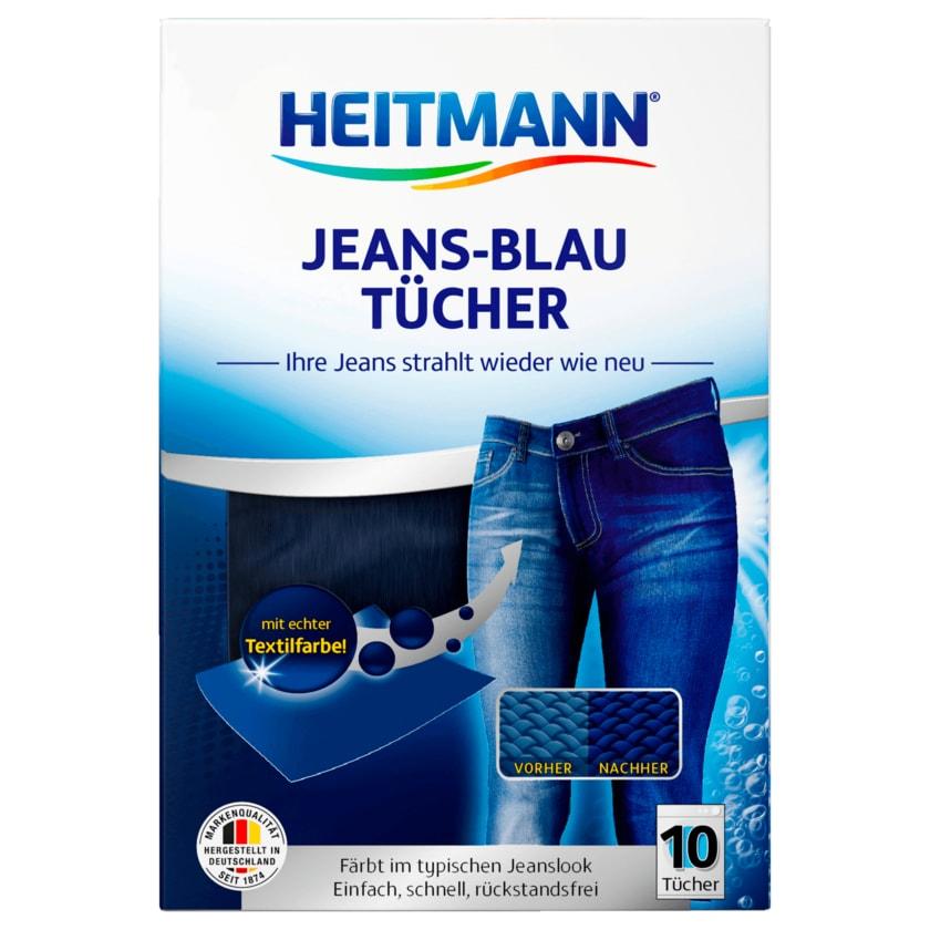 Heitmann Jeans Blau Tücher 10 Stück