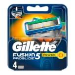 Gillette Klingen Fusion ProGlide 5 Power 4 Stück