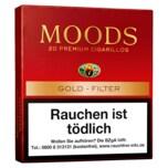 Moods Gold Filter Cigarellos 20 Stück
