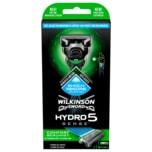 Wilkinson Sword Hydro 5 Sense Comfort Herren Rasierer mit 1 Rasierklinge