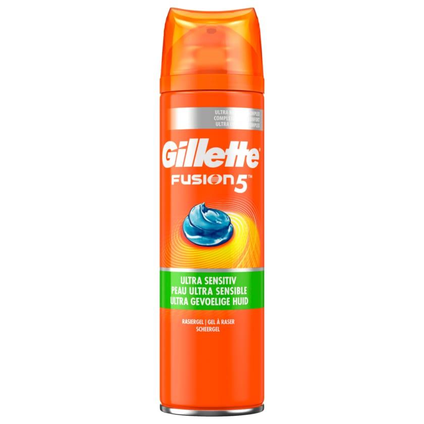 Gillette Rasiergel Fusion 5 Ultra Sensitiv 200ml