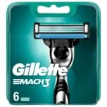 Gillette Klingen Mach3 6 Stück