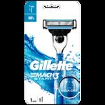Gillette Rasierer Mach 3 Start mit Aqua-Grip 1 Stück
