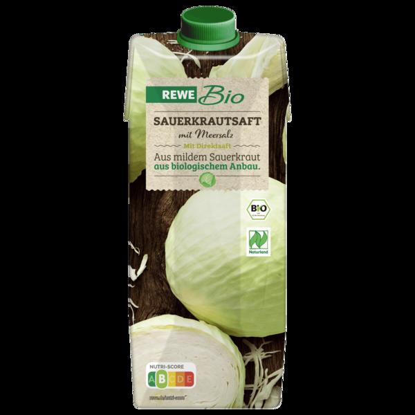 REWE Bio Sauerkrautsaft mit Meersalz 0,5l
