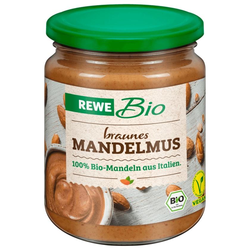 REWE Bio Mandelmus braun 250g