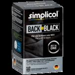 Simplicol Back to Black Farb- und Fixierpulver Schwarz 400g