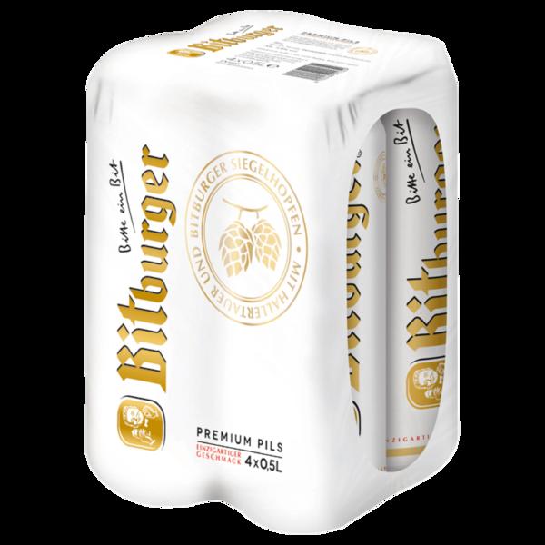 Bitburger Premium Pils 4x0,5l