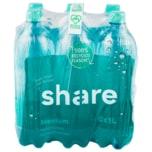 Share Mineralwasser prickelnd 6x1l