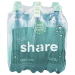 Share Mineralwasser Medium 6x1l
