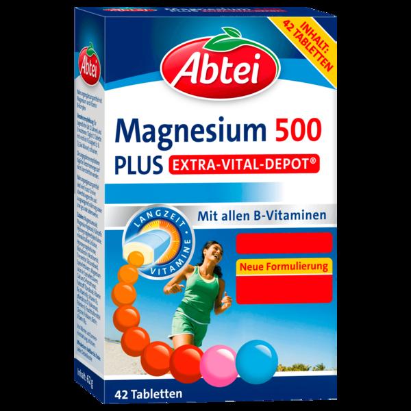 Abtei Magnesium 500 42 Tabletten