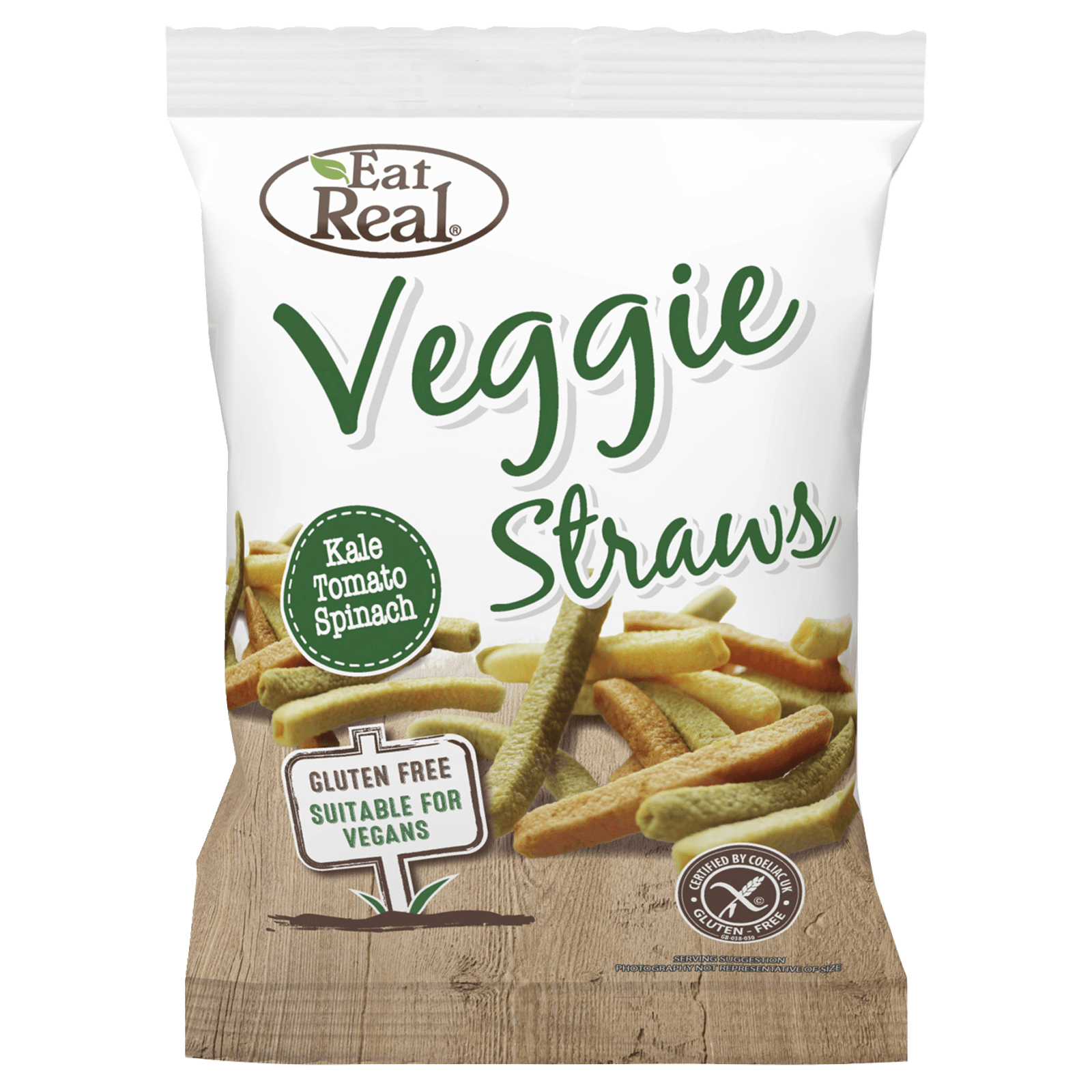 Eat Real Organic Veggie Straws 100g