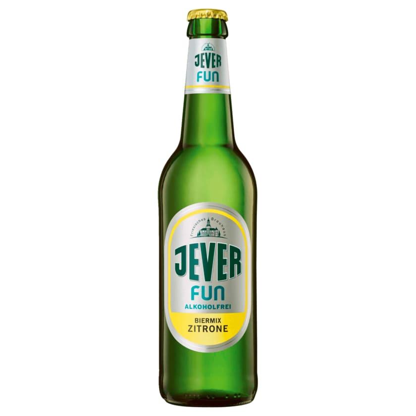 Jever Fun alkoholfrei Biermix Zitrone 0,33l