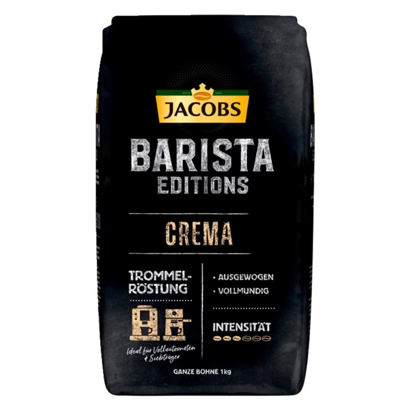 Jacobs Kaffeebohnen Barista Editions Crema 1kg