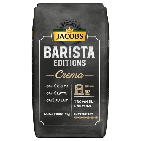 jacobs barista edition kaffee ganze bohnen crema 1kg bei. Black Bedroom Furniture Sets. Home Design Ideas