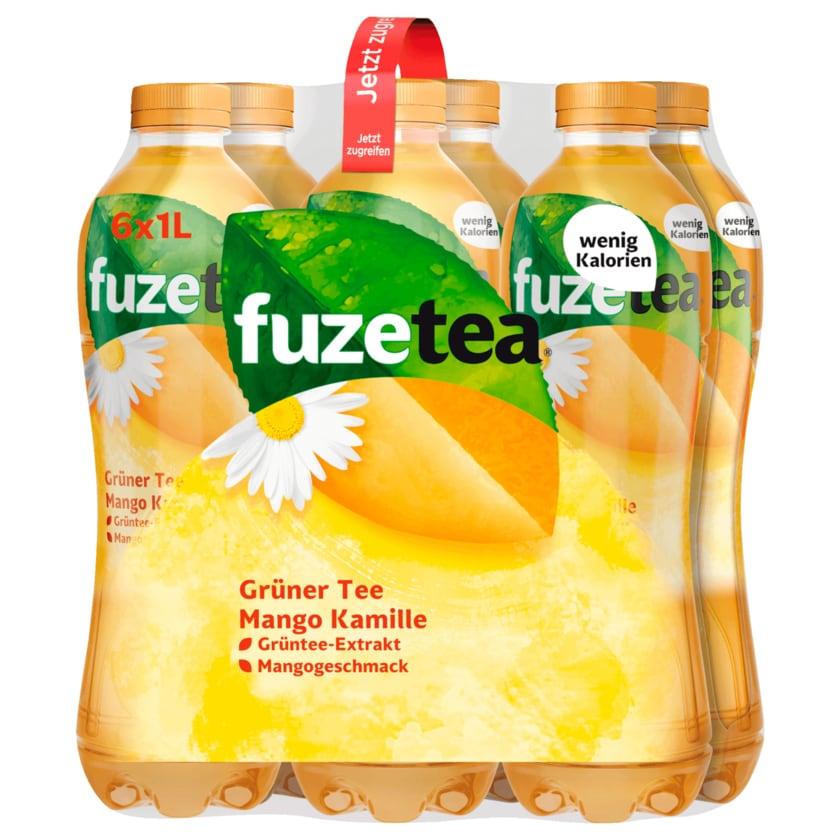Fuze Tea Grüner Tee Mango Kamille 6x1l