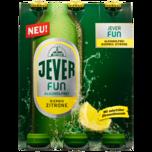 Jever Fun alkoholfrei Biermix Zitrone 6x0,33l