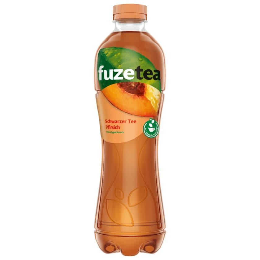 Fuze Tea Schwarzer Tee Pfirsich 1l