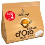 Dallmayr Crema D'Oro Mild & Fein 16+2 Pads 126g