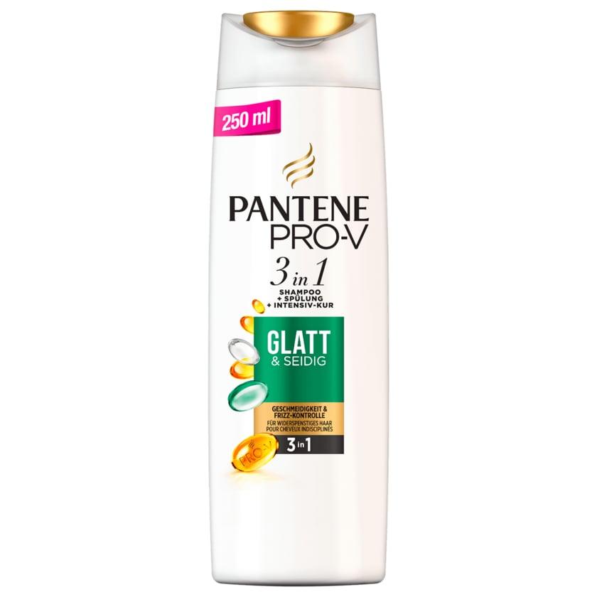 Pantene Pro-V Haarshampoo 3in1 Glatt&Seidig 250ml