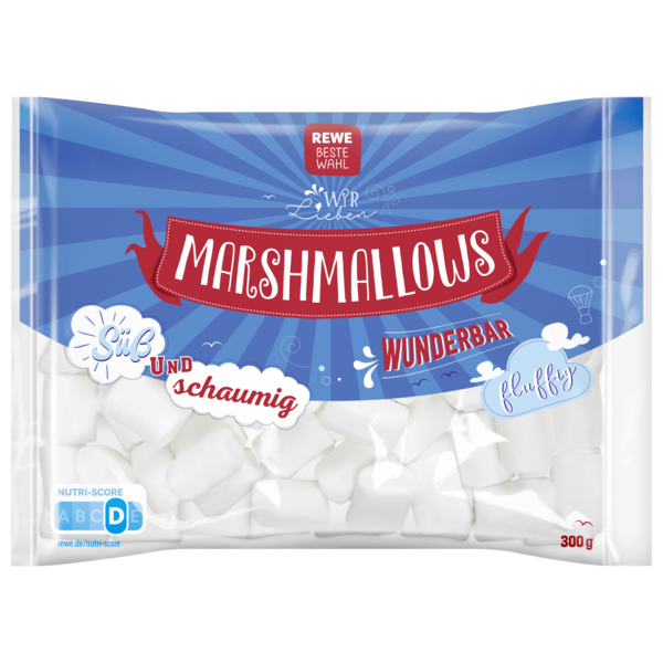 REWE Beste Wahl Marshmallows 300g