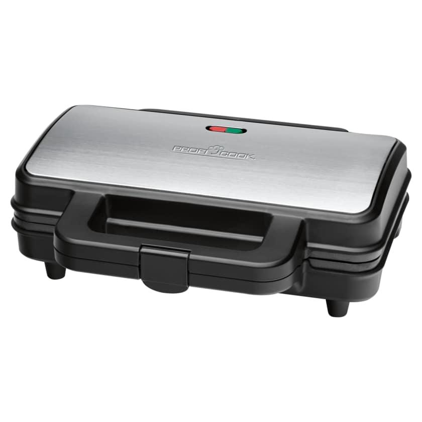 ProfiCook XXL-Sandwichtoaster PC-ST 1092 edelstahl/schwarz