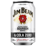 Jim Beam White & Cola Zero 0,33l