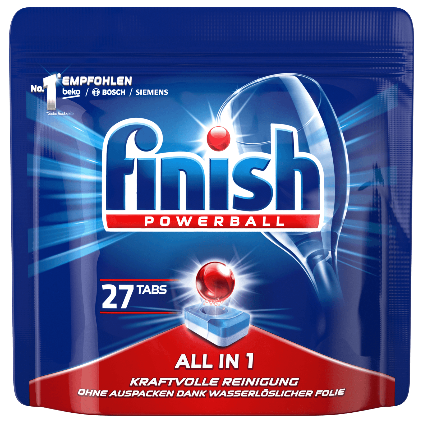 Finish All in 1 Powerball 27 Tabs