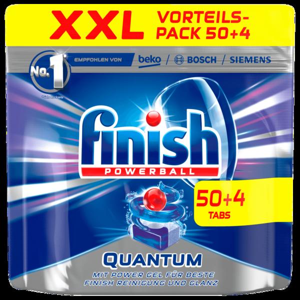 Finish Powerball Quantum Spülmaschinentabs XXL 837g, 50 Tabs + 4 gratis