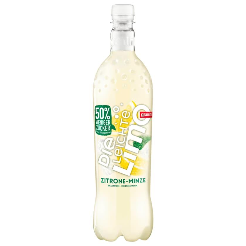 Granini die leichte Limo Zitrone Minze 1l