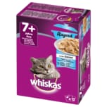 Whiskas 7+ Ragout Fischauswahl in Gelee 12x85g