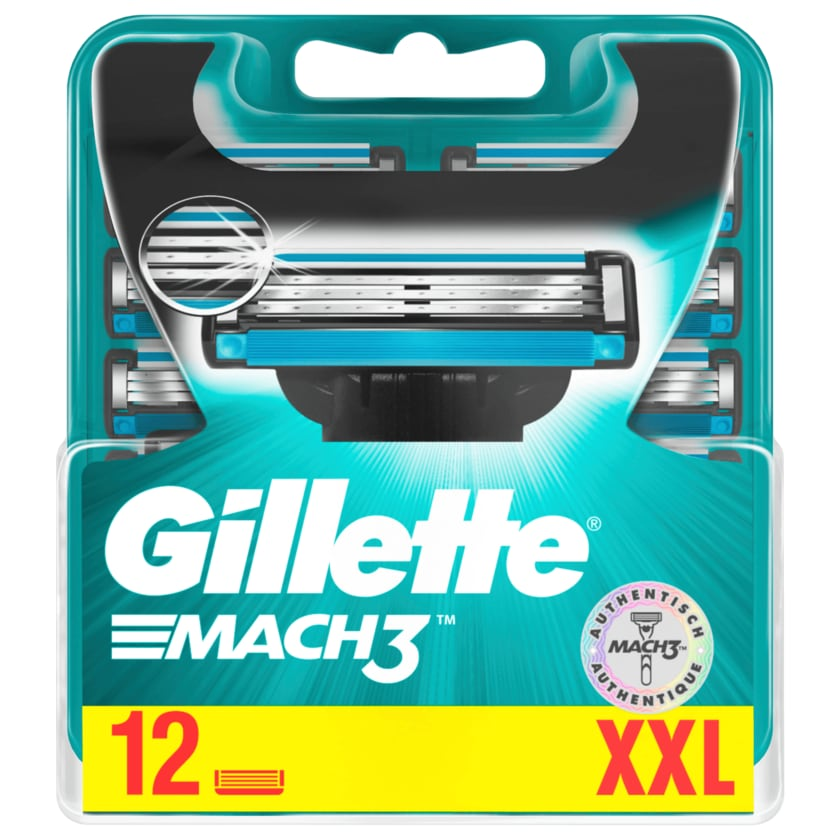 Gillette Klingen Mach3 XXL 12 Stück