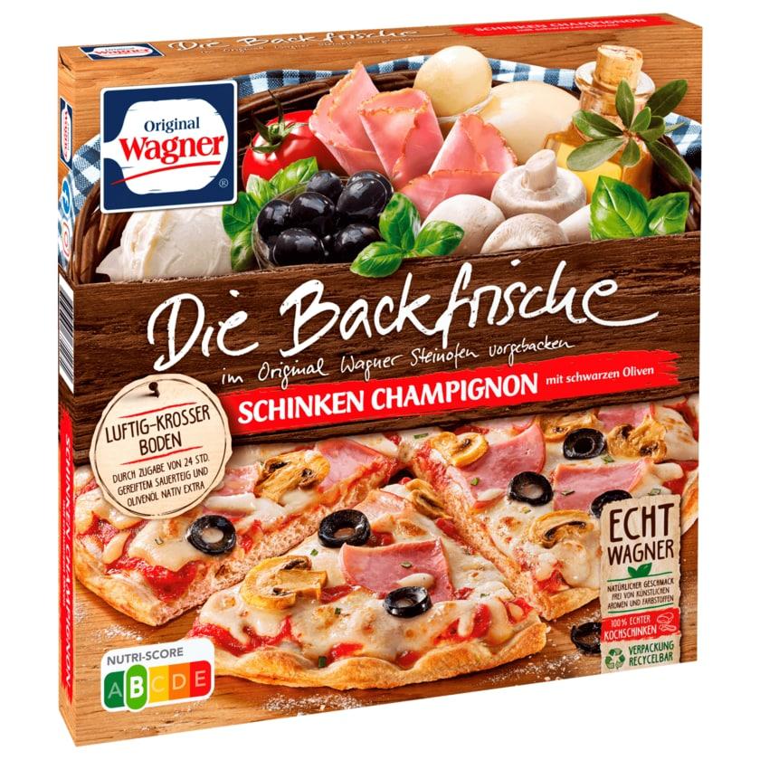 Original Wagner Die Backfrische Schinken Champignon 360g
