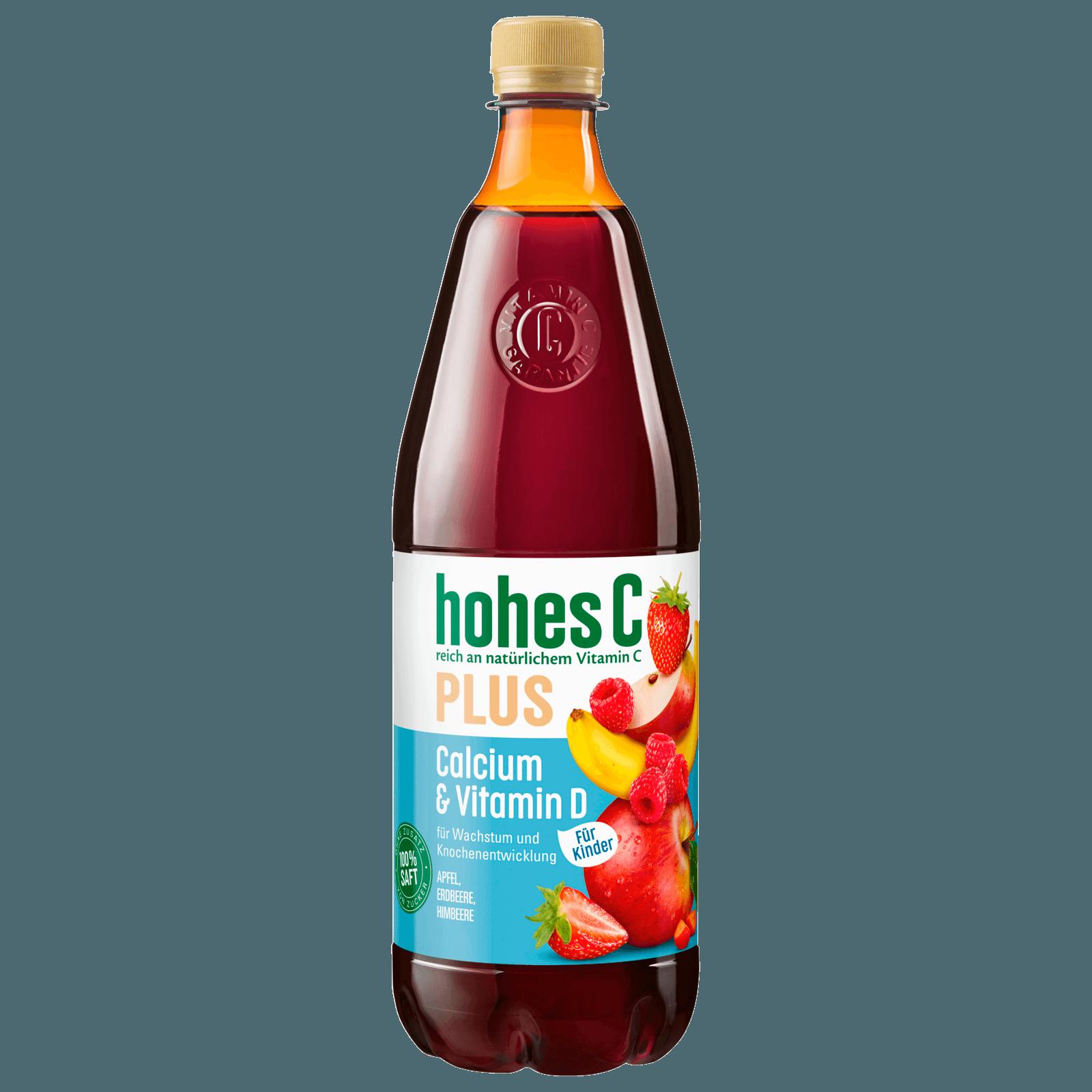 Hohes C Plus Calcium & Vitamin D 1l