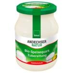 Andechser Bio Speisequark Zubereitung 500g